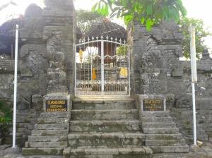 Penampakan Pura Luhur Uluwatu