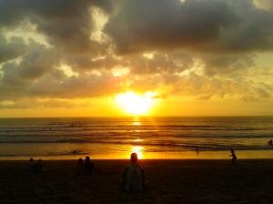 Sunset di Kuta