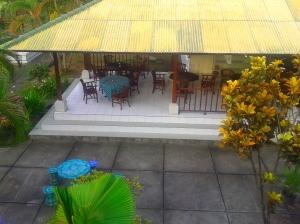 Tempat wifi gratis (dilihat dari balkon kamar)