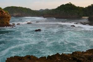 View dari Gua Kombang