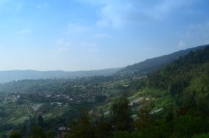 View di sekitar Candi Sukuh