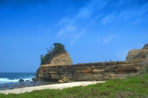 Ciri khas Pantai Pathuk Gebang