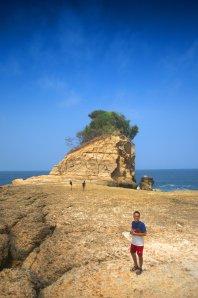 Di atas tebing Pathuk Gebang