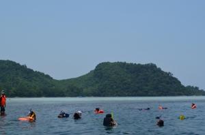 Spot snorkeling pertama |Mbak Rumba shoot