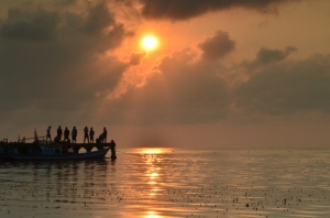 Para pencari sunrise