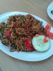 Nasi Goreng yang keliatannya pedas
