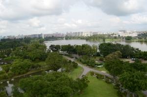 View dari lantai 7