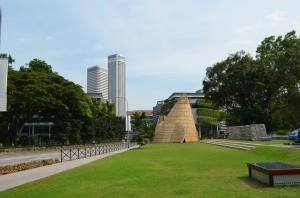 Halaman depan Museum of Singapore