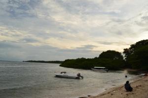 Penampakan pantai Bama