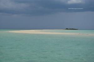 Nokoh gili dengan ciri khas bentuk pulaunya