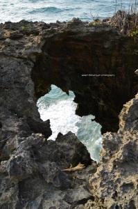 Lubang karang yang lancip