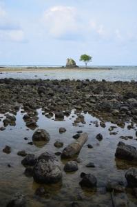 Ujung dari Pantai Jherat Lanjeng
