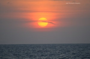 Matahari bulat