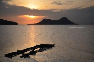 Sunrise indah di Bawean