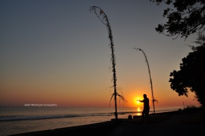 Sunrise-an pertama di Nusa Penida