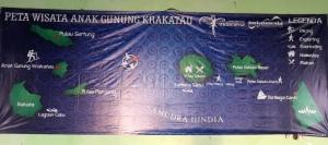 Map-nya trip Krakatau