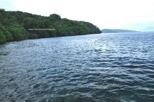 Lagoon cabe keliatan butek gara-gara sedikit mendung