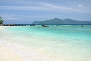 pasir dan airnya benar-benar cemplungable