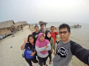 Wefie mulu nih | Credit to Wahyu