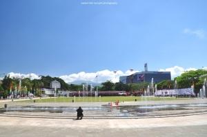 Lapangan depan Gedung Sate