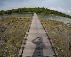 spot terbaik kedua di Pulau Panjang