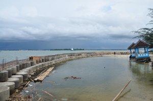 perbaikan di Pulau Panjang