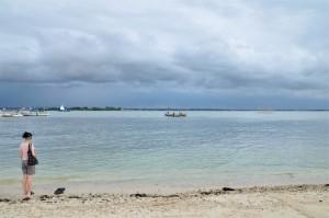View dari spot pasir putih