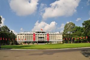 Reunification Palace, karena waktunya mepet kita tidak masuk