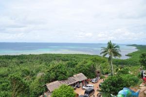 View dari puncak Bukit Love